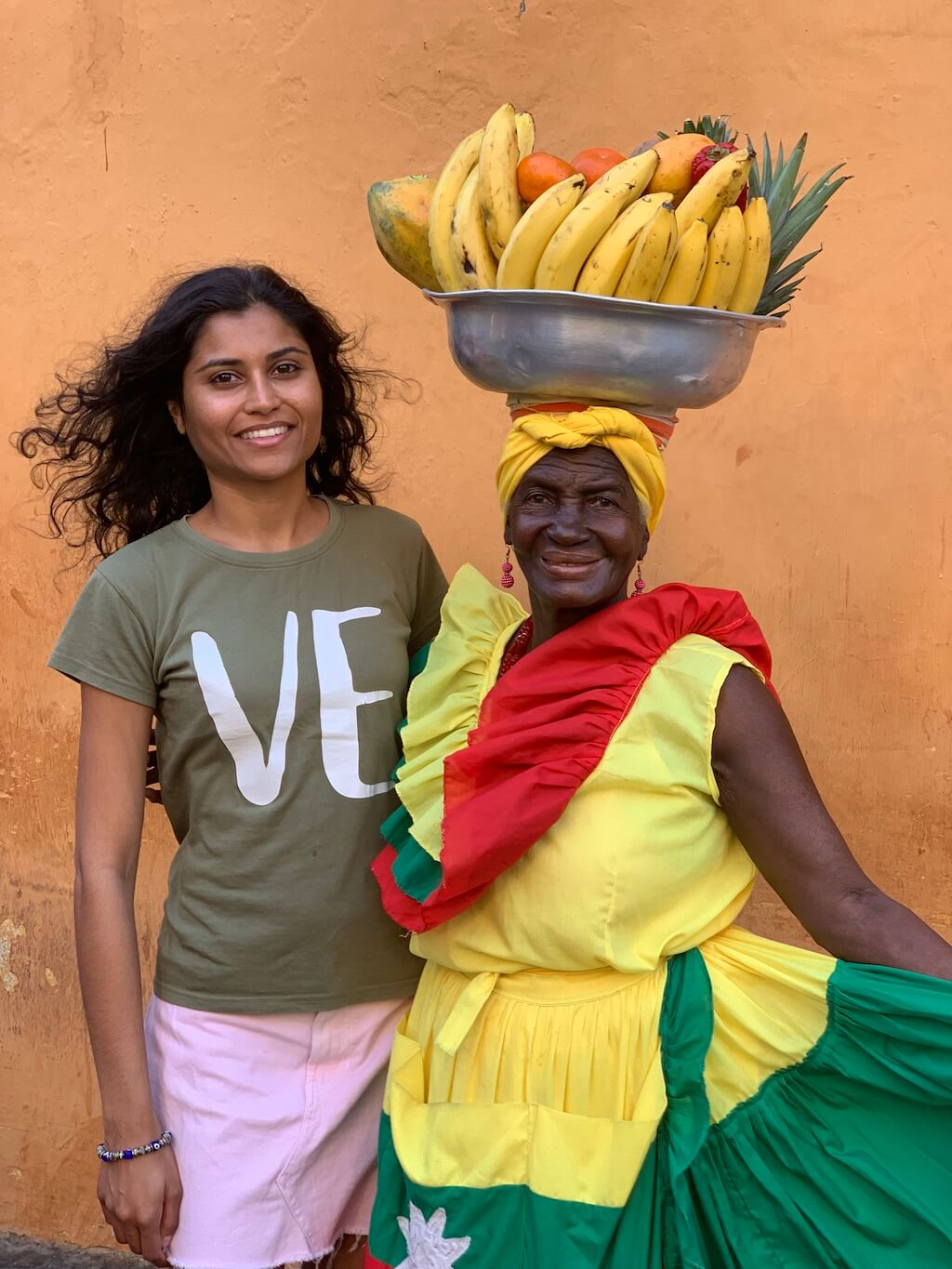 The kindest palenquera told me how she has dedicated her whole life to the fruit-selling tradition